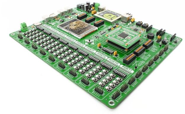 Beauty of micro electronic circuit