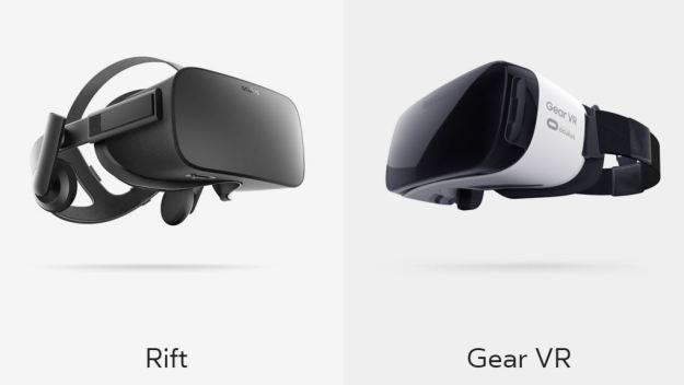 2016_Ocolus Rift and Samsung Gear VR